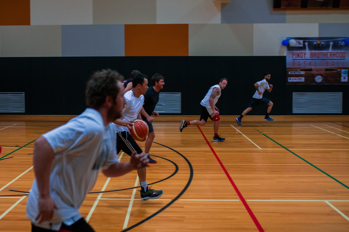 Entering a Team Social Basketball Christchurch