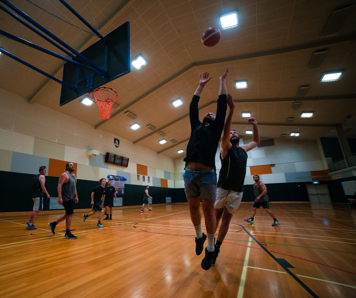 Mens Social Basketball League Game Christchurch
